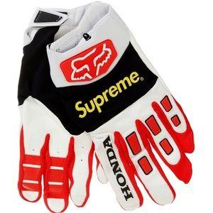 Supreme Fox Honda Racing Gloves sz. Small